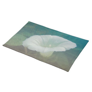 White Bindweed - The Wild Perennial Morning Glory Place Mat