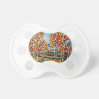 White Birch Reservoir Baby Pacifiers