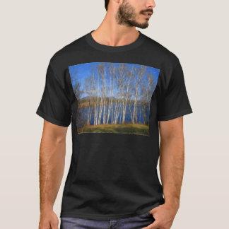 White Birch Trees in Searsport Maine T-Shirt