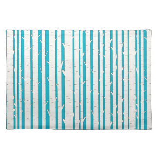 White Birch Trees Placemat