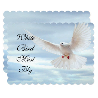 White Bird Card