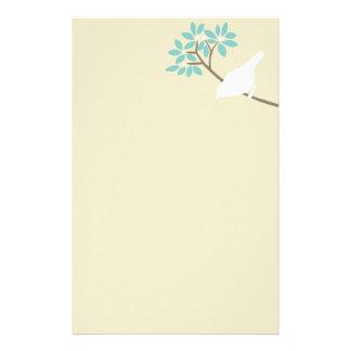 White Bird Custom Stationery