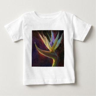 White Bird Of Paradise Hawaiian Tropical Flower Baby T-Shirt