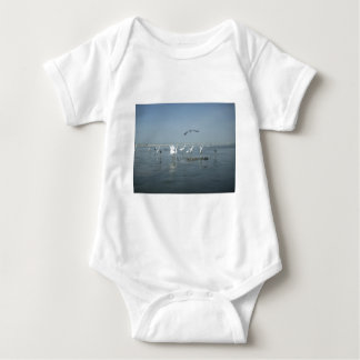 White birds featehres hakuna matata.JPG Baby Bodysuit