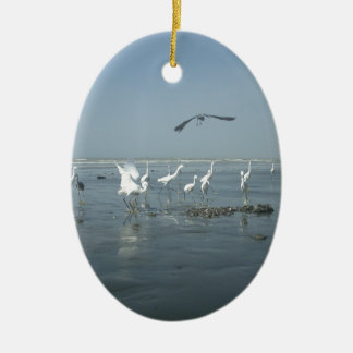 White birds featehres hakuna matata.JPG Ceramic Ornament