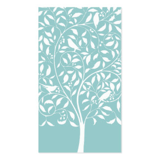 White birds in Tree Business Card
