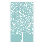White birds in Tree Business Card Templates