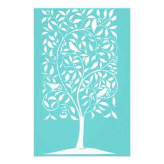 White Birds in Tree Flyer