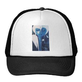 White birds trucker hat