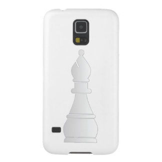 White bishop chess piece galaxy s5 cover