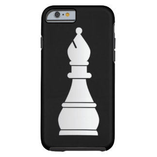 White bishop chess piece tough iPhone 6 case