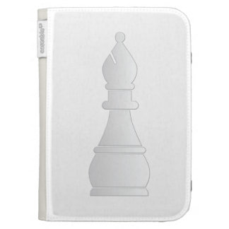 White bishop chess piece kindle 3G cases