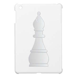 White bishop chess piece cover for the iPad mini