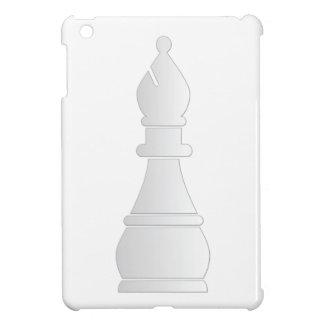White bishop chess piece iPad mini cover