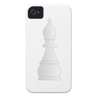 White bishop chess piece iPhone 4 Case-Mate case