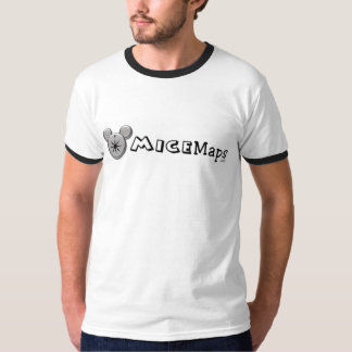 White Black Ringer T-Shirt