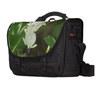 White Bleeding Heart Commuter Bags