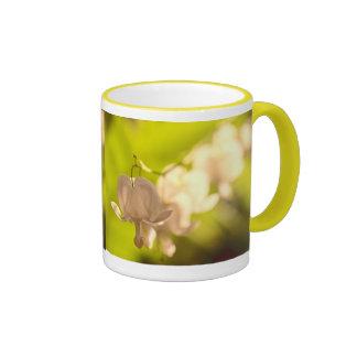 White Bleeding Hearts Photo Coffee Mugs