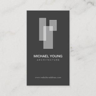 Builder business cards templates zazzle white blocks logo for architects builders design business card colourmoves