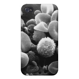 White Blood s G4 iPhone 4 Cases
