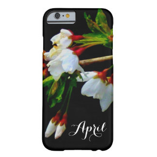 White blossom barely there iPhone 6 case