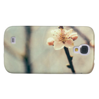 White Blossom, Blossoming Tree In Spring Galaxy S4 Cases