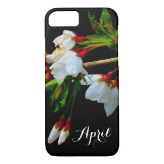 White blossom iPhone 8/7 case