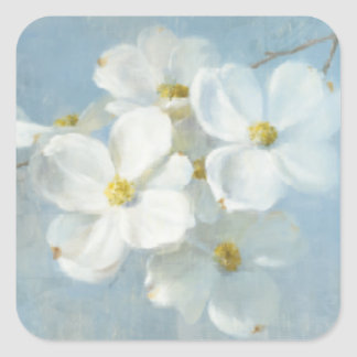 White Blossom Panel Stickers