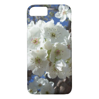White Blossoms I Spring Floral iPhone 8/7 Case