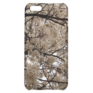 White Blossoms Cover For iPhone 5C