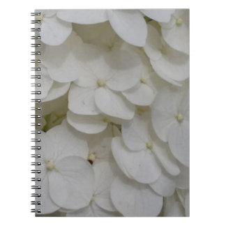 White Blossoms Photo Notebook (80 Pages B&W)