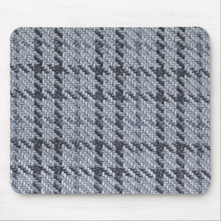 White, blue and black nodes mouse pad