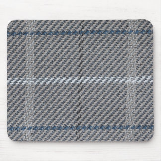 White, blue and brown node mouse pad