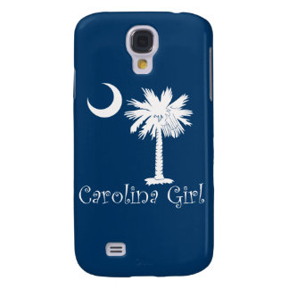 White/Blue Carolina Girl iPhone 3G/3GS Case Samsung Galaxy S4 Covers
