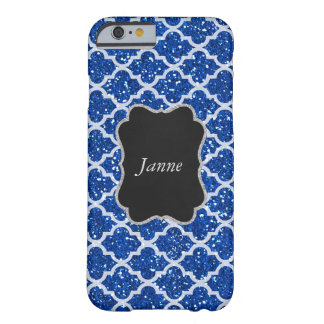 White Blue Silver Chic Vip iPhone Samsung Case