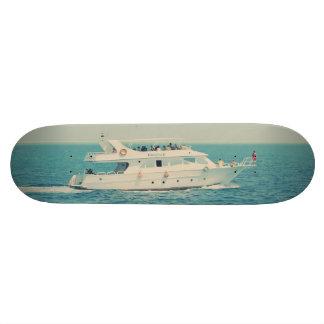 White boat skateboards
