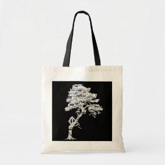 White Bodhi Tree Bag