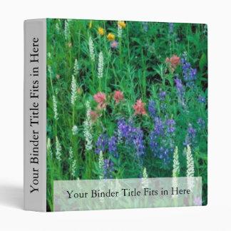 White bog orchid binder