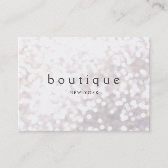 White bokeh glitter modern event planner business card zazzle white bokeh glitter modern event planner business card colourmoves