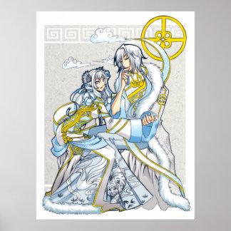 White Bond as Pure as Snow Poster Print