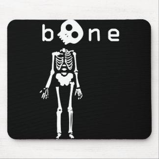 white bone mouse pad
