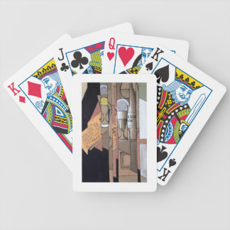 White Bordeaux, 1913 (gouache & pencil on paper) Bicycle Playing Cards
