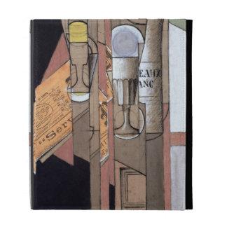 White Bordeaux, 1913 (gouache & pencil on paper) iPad Folio Cover