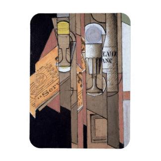 White Bordeaux, 1913 (gouache & pencil on paper) Flexible Magnets