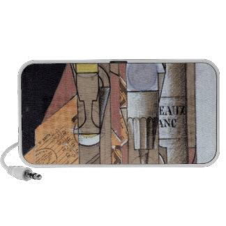 White Bordeaux, 1913 (gouache & pencil on paper) Mini Speakers