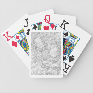 White Border for Photo Bicycle® Playing Cards