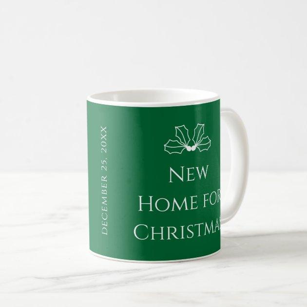 White Coffee Green Christmas New Botanicals For On Mug Home LcRAq354j