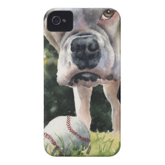 White Boxer Case-Mate iPhone 4 Case