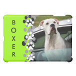 White Boxer in a Car iPad Mini Case
