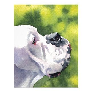 White Boxer Letterhead